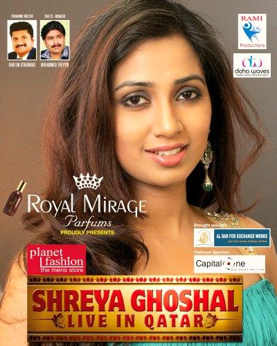 shreya-ghoshal-live-in-qatar-poster-ePathram