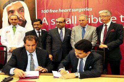 signing-ceremoney-of-burjeel-hospital-ePathram