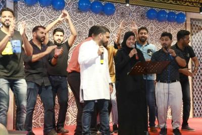 singer-suleikha-hameed-art-mates-ePathram