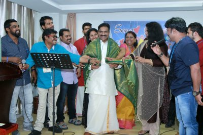 song-love-group-felicitate-sidheek-chettuwa-ePathram