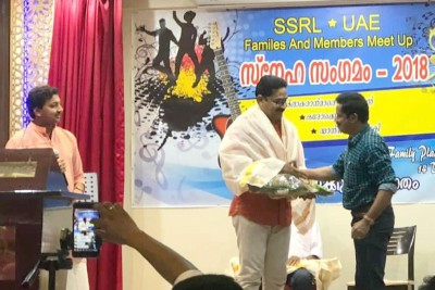 ssrl-honored-musician-zubair-taliparamba-ePathram