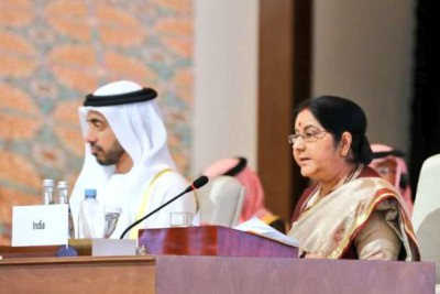 sushama-swaraj-in-organization-of-islamic-cooperation-oic-ePathram