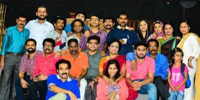 team-nataka-sauhrudham-in-ksc-drama-fest-2015-ePathram