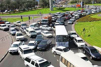 toll-gate-in-abudhabi-to-control-traffic-block-ePathram
