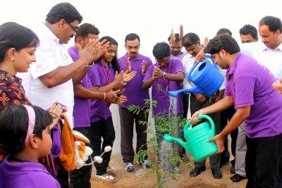tree-plantation-at-samajam-summer-camp-ePathram