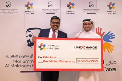 uae-exchange-donates-one-million-to-dubai-cares-ePathram