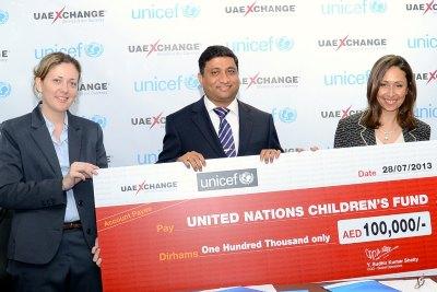 uae-exchange-donation-to-unicef-in-ramadan-2013-ePathram