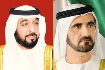 uae-president-and-vice-president-sheikh-khalifa-and-muhammed-ePathram