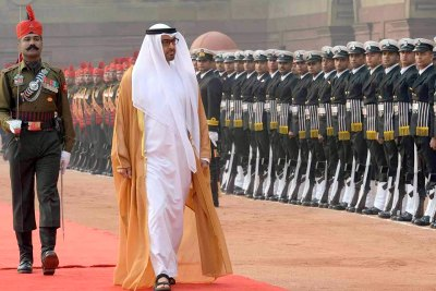 sheikh-muhammed-bin-zayed-al-nahyan-3-day-visit-in-india-ePathram