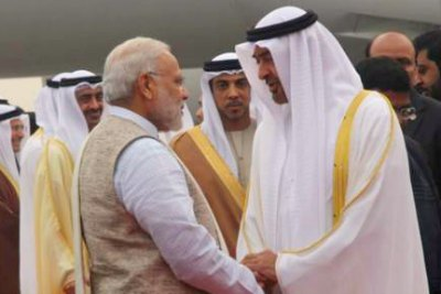 sheikh-muhammed-bin-zayed-arrives-india-ePathram.jpg
