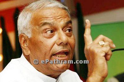 formar-minister-yashwant-sinha-ePathram