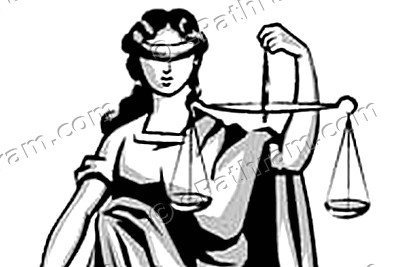 logo-law-and-court-lady-of-justice-ePathram