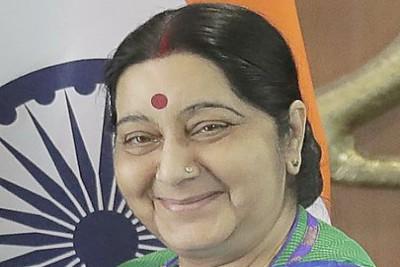 sushma-swaraj-passed-away-ePathram