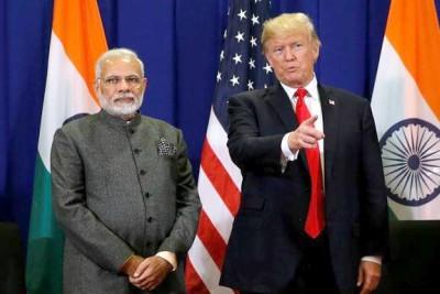 narendra-modi-namaste-trump-india-visit-2020-ePathram