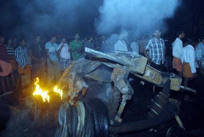 gas tanker accident-epathram