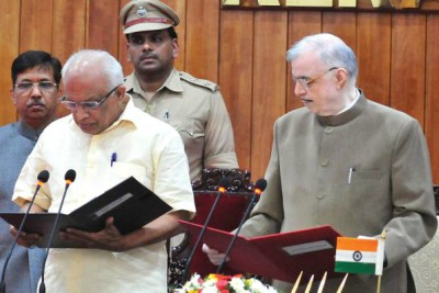 jds-leader-k-krishnankutty-sworn-kerala-minister-water-resources-ePathram