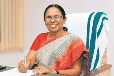 kerala-health-minister-k-k-shailaja-ePathram