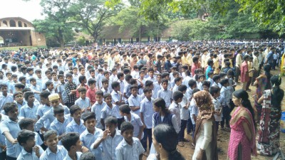 koottanad-vattenad-high-school-students-oath-against-drugs-ePathram