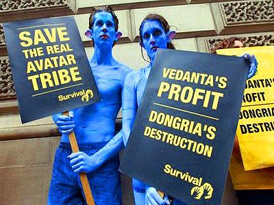 vedanta-avatar-protest-epathram