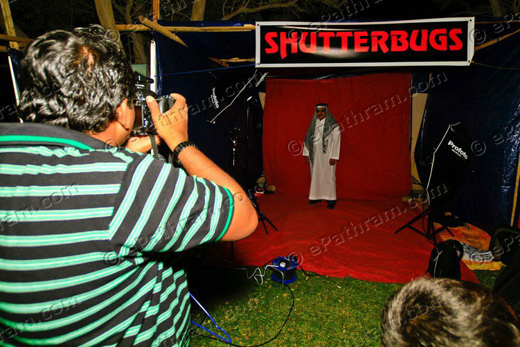 shutterbugs in action
