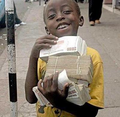 zimbabwe notes equivalent to 3 US dollars-epathram