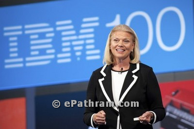 virginia rometty-IBM-CEO-epathram