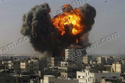 gaza-airstrike-epathram