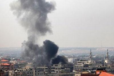 israel-airstrike-epathram