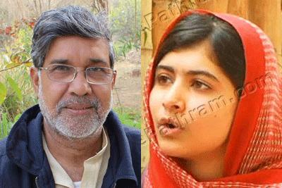 kailash-satyarthi-malala-yousafzai-nobel-peace-prize-epathram