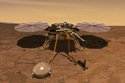 robotic-lander-of-nasa-insight-landed-in-mars-ePathram