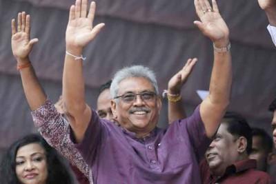 gota-baya-raja-paksa-president-of-srilanka-ePathram